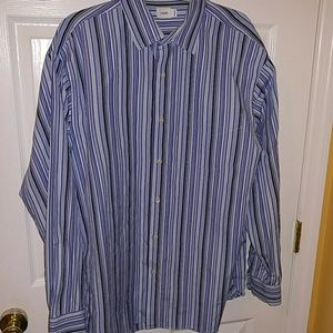 J.CREW LONG SLEEVES STRIPE BUTTON UP